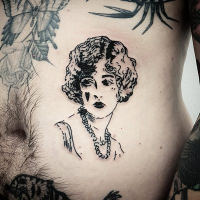 Vintage Woman Lag Tattoos